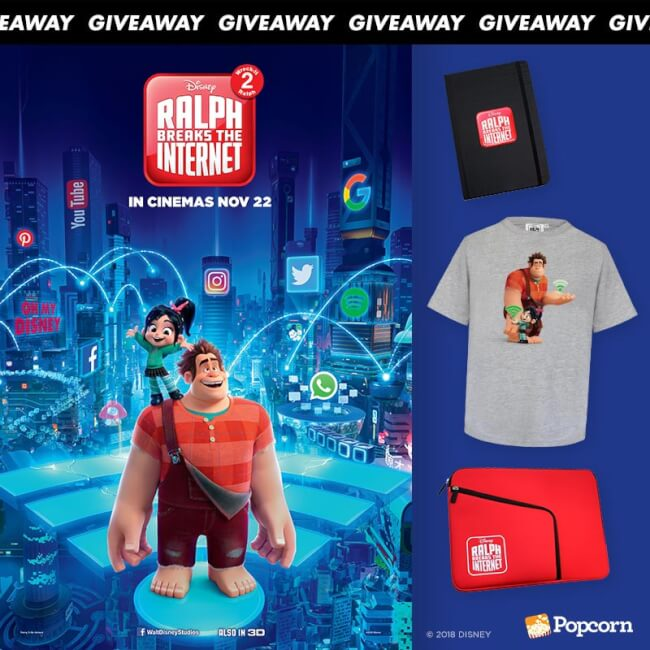 Win Disney's Ralph Breaks The Internet: Wreck-It Ralph 2 Limited Edition Movie Premiums