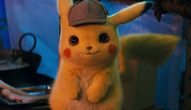 Ryan Reynolds Is THE Talking Mouse In The First Trailer For Pokémon's 'Detective Pikachu'