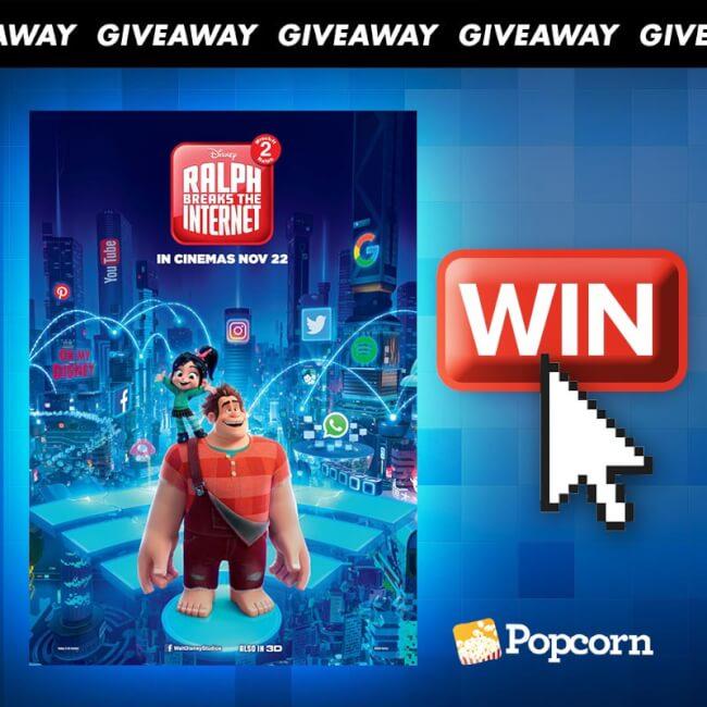 Win Tickets To 'Disney's Ralph Breaks The Internet: Wreck-It Ralph 2'