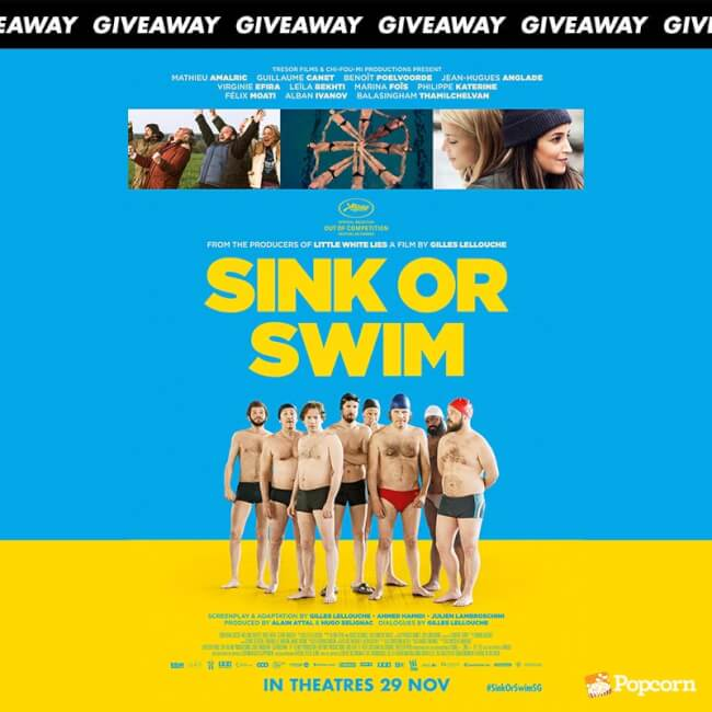 Win Passes To French Comedy 'Sink or Swim'