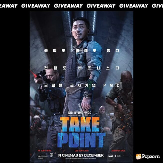 Win Passes To Korean Action Blockbuster 'Take Point'