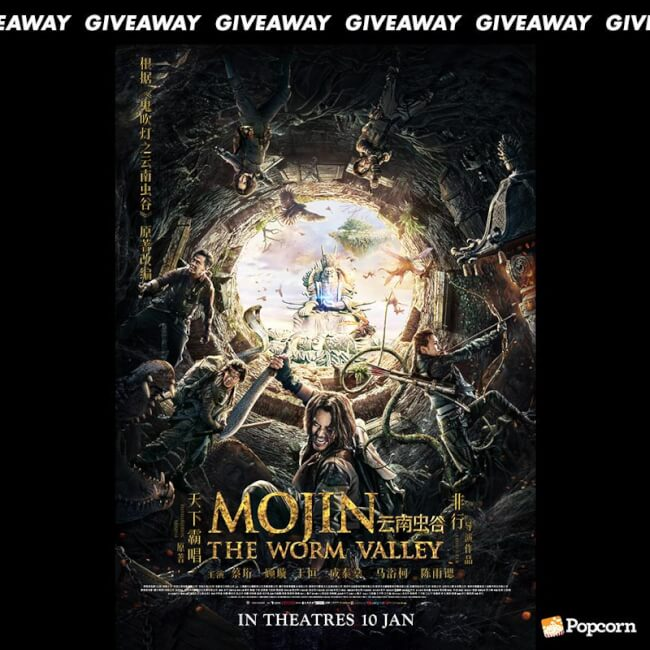 Win Preview Tickets To Chinese Action Adventure 'Mojin: The Worm Valley'