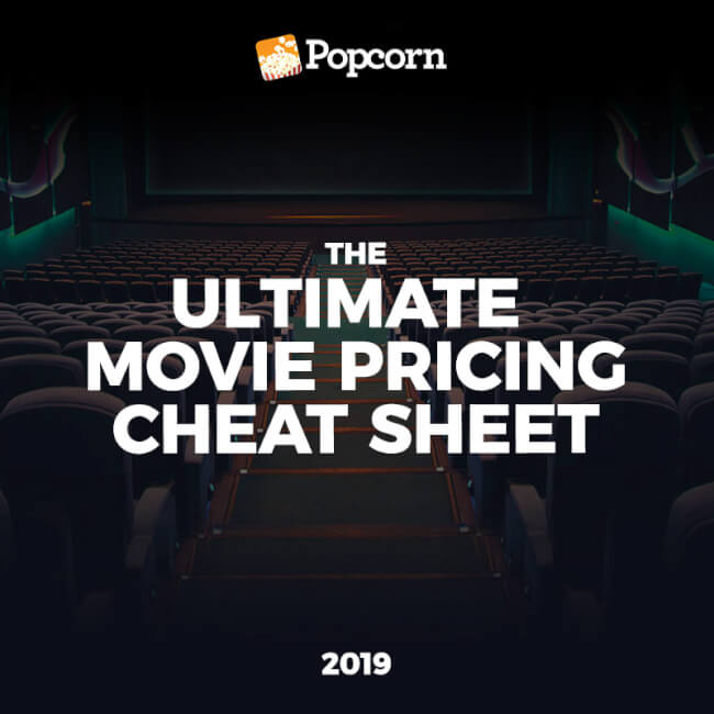 The Ultimate Movie Pricing Cheat Sheet For Singapore Cinemas 2019