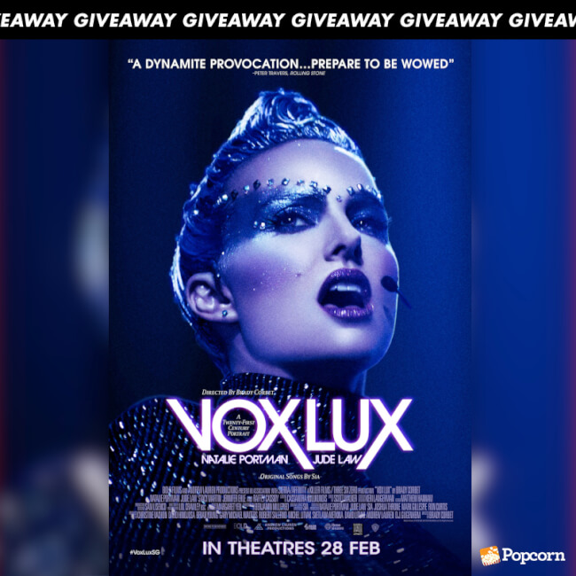 Win Complimentary Passes To Natalie Portman's Musical Drama 'Vox Lux'