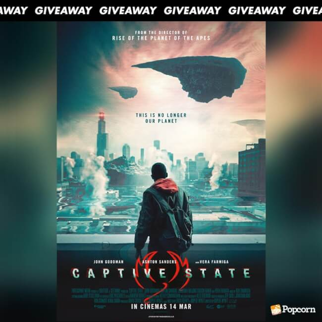 Win Premiere Tickets To Action Sci-Fi Thriller 'Captive State'