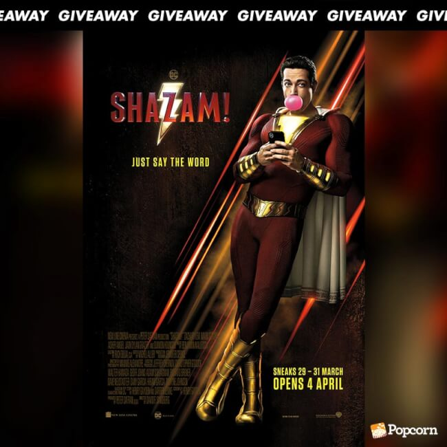 Win Preview Tickets To Superhero Action Adventure 'Shazam!'
