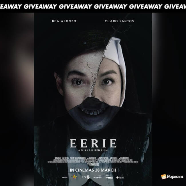 Win Complimentary Passes To Filipino Horror Film 'Eerie'