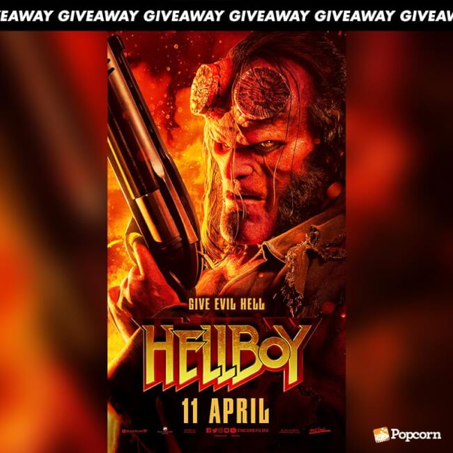 Win Limited Edition Premiums From Action Adventure 'Hellboy'