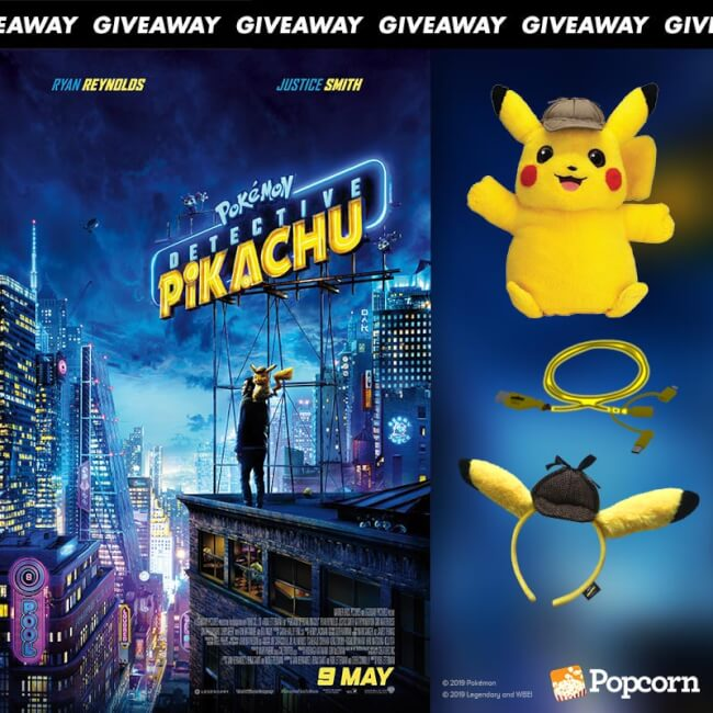 Win Limited Edition 'POKÉMON Detective Pikachu' Movie Premiums