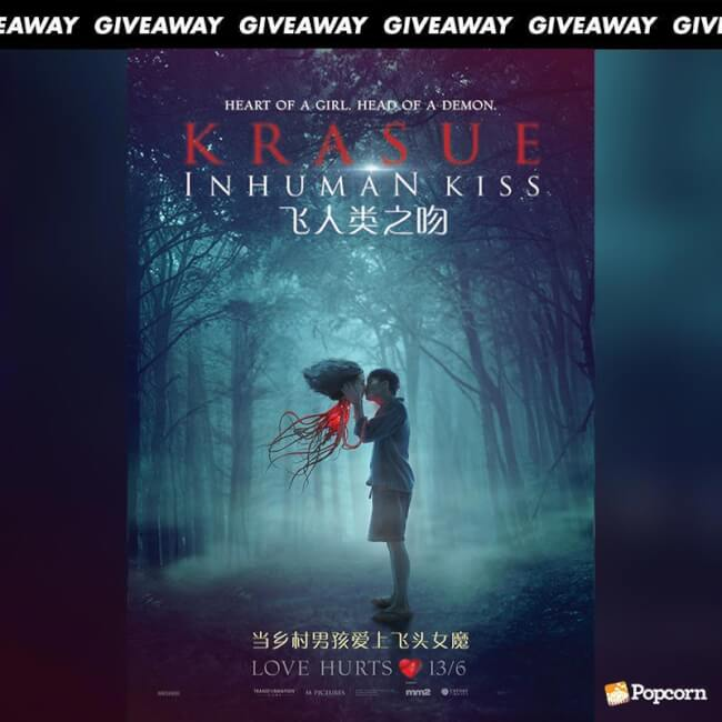 Win A Pair Tickets To Thai Horror Romance 'Krasue: Inhuman Kiss'