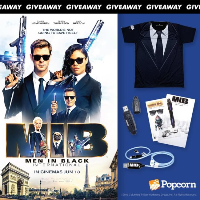 Win Exclusive Limited Edition 'Men In Black: International' Movie Premiums