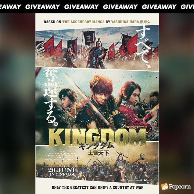 Win Passes To Japanese Action Film Kingdom