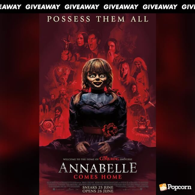 Win Tickets To Horror Thriller 'Annabelle Comes Home'
