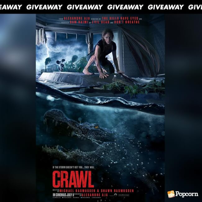 Win Preview Tickets To Nail-Biting Horror' Thriller Crawl'