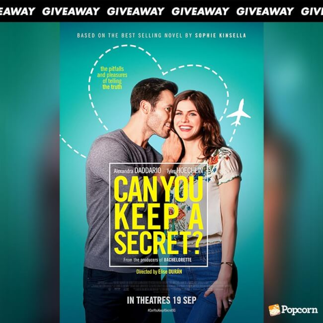 Win Preview Tickets To RomCom 'Can You Keep A Secret'