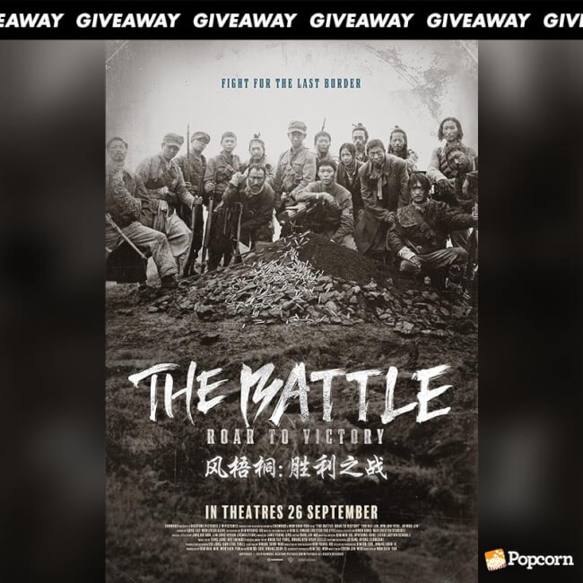 Win Preview Tickets To Korean Action Movie 'The Battle: Roar To Victory'