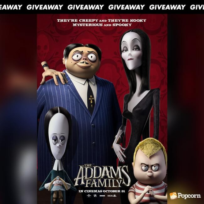 Win Preview Tickets To Animated Comedy 'The Addams Family'