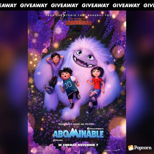 Win Limited Edition Movie Premiums From Animated Comedy Adventure 'Abominable'
