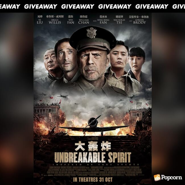 Win Preview Tickets To War Action Movie 'Unbreakable Spirit'