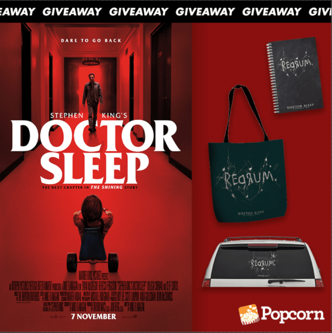 Win Limited Edition Movie Premiums From Horror Movie Stephen King's Doctor Sleep