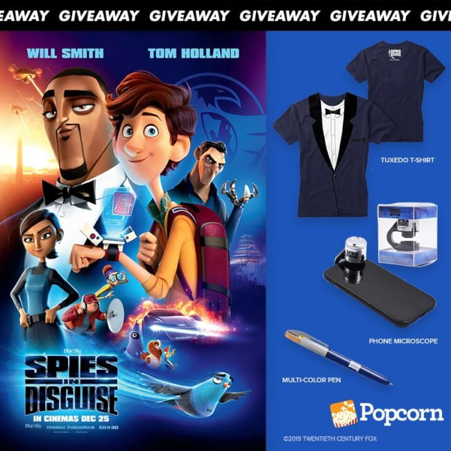 Win Limited Edition 'Spies In Disguise' Movie Premiums
