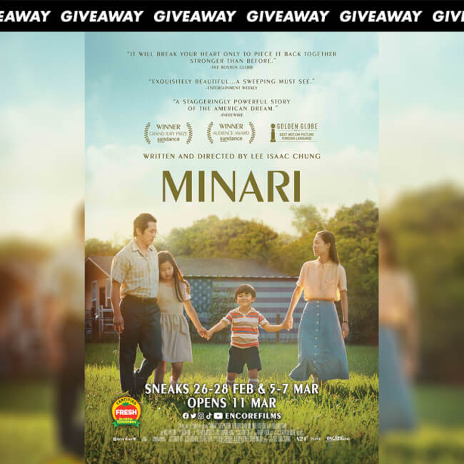 Win Premiere Tickets To Family Drama MINARI