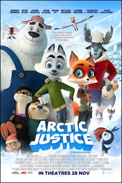 Arctic Justice Movie Poster