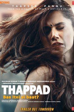 Thappad Movie Poster