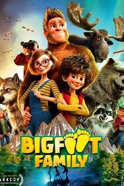 Bigfoot Family Movie Poster
