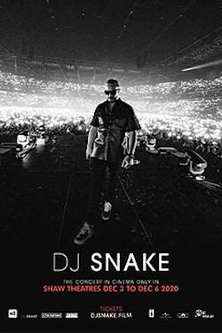 DJ Snake: The Concert In Cinema Movie Poster