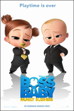 The Boss Baby: Family Business Movie Poster