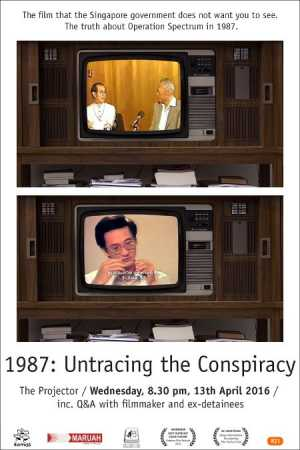 1987: Untracing The Conspiracy Movie Poster