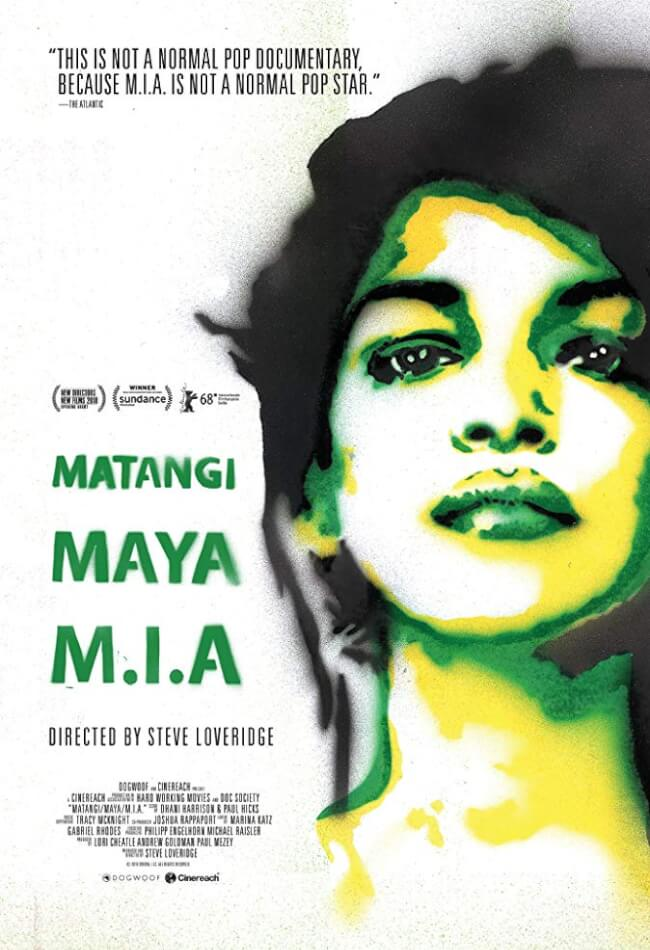 Matangi/Maya/M.I.A Movie Poster