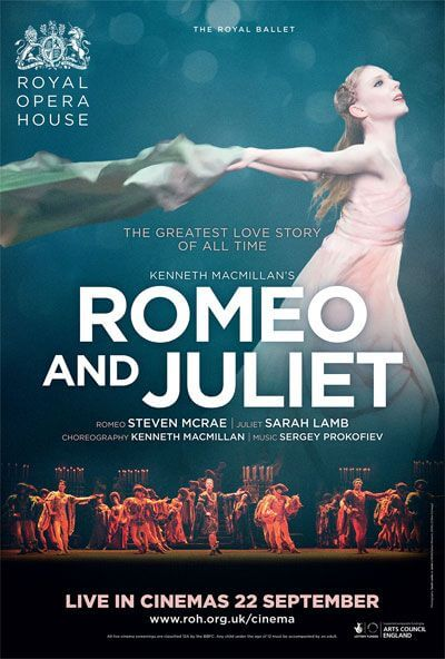 Royal Opera House: Romeo & Juliet Movie Poster