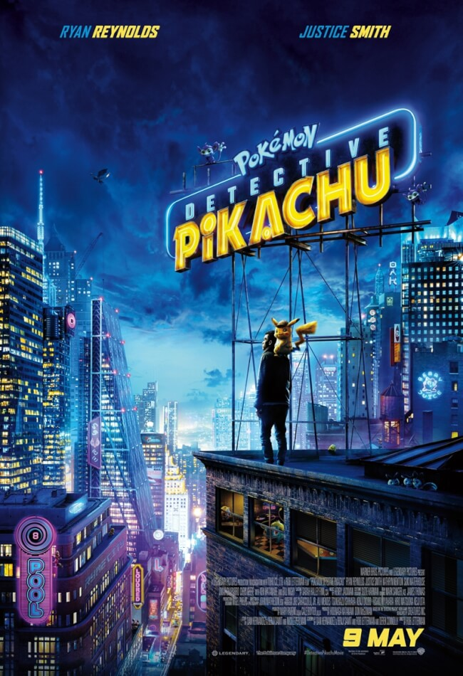 Pokémon Detective Pikachu Movie Poster