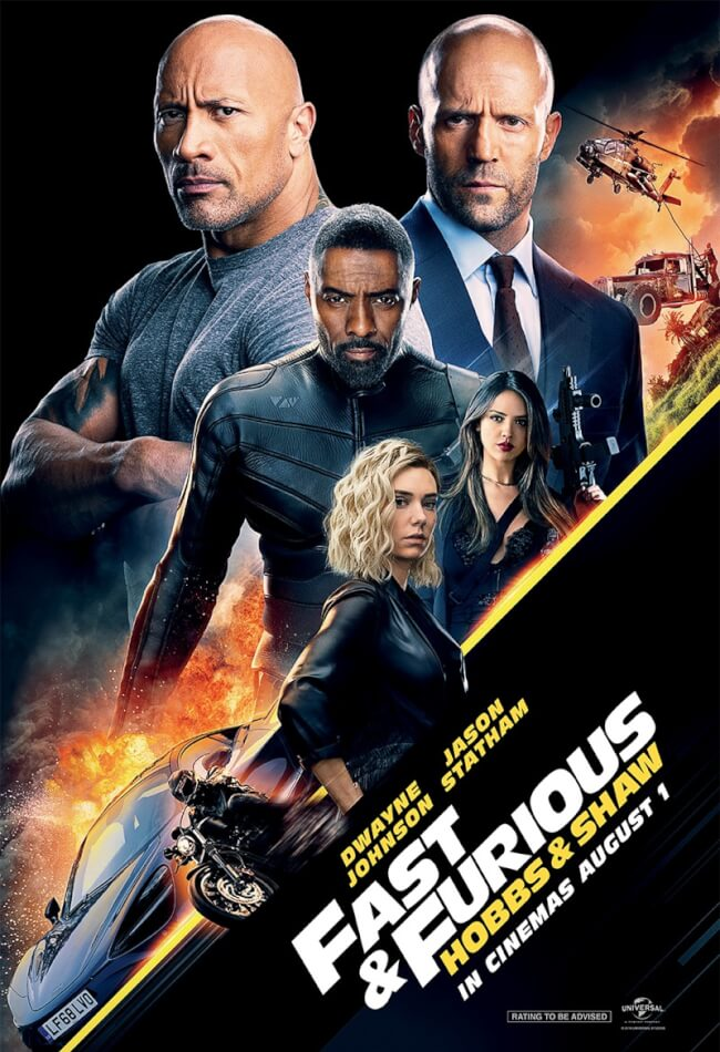 Fast & Furious: Hobbs & Shaw Movie Poster