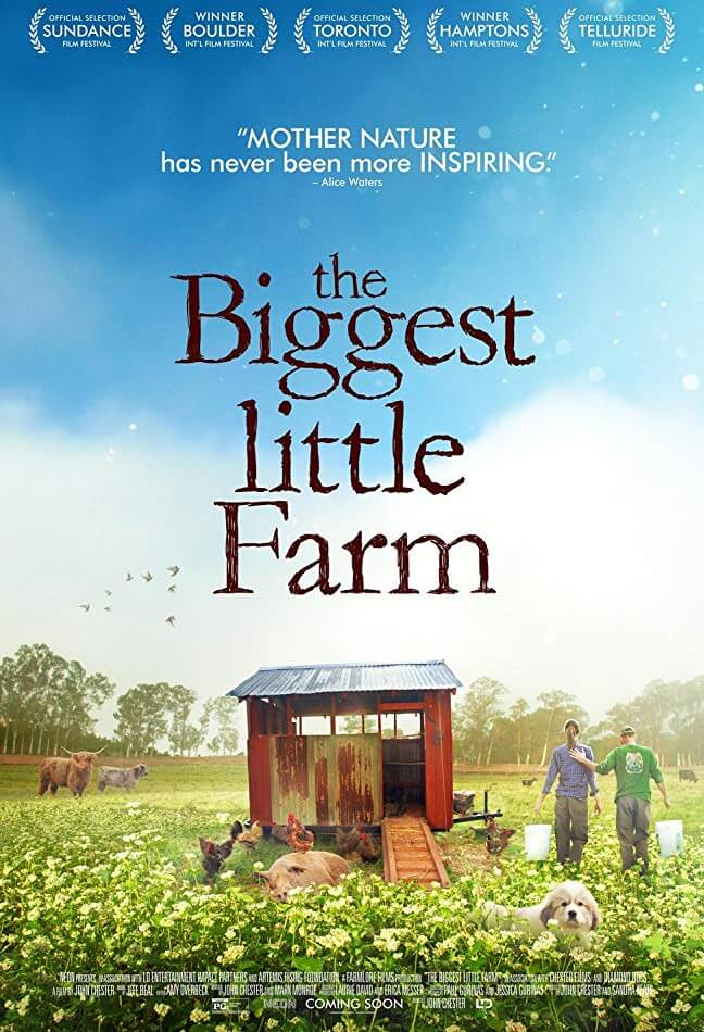The Biggest Little Farm Movie Poster