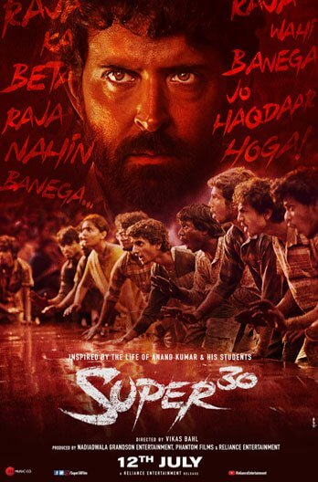Super 30 Movie Poster