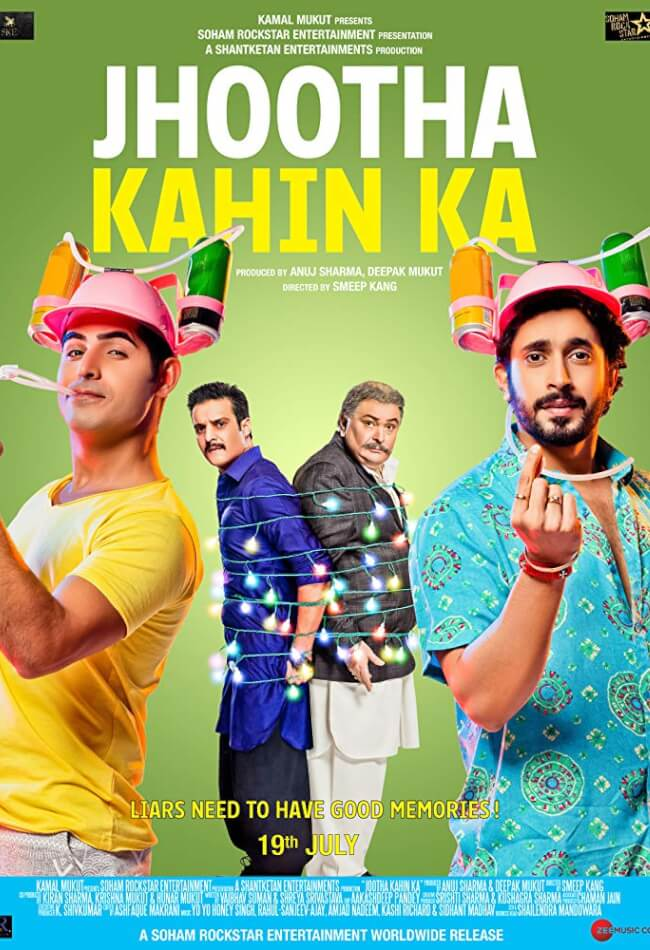 Jhootha Kahin Ka Movie Poster