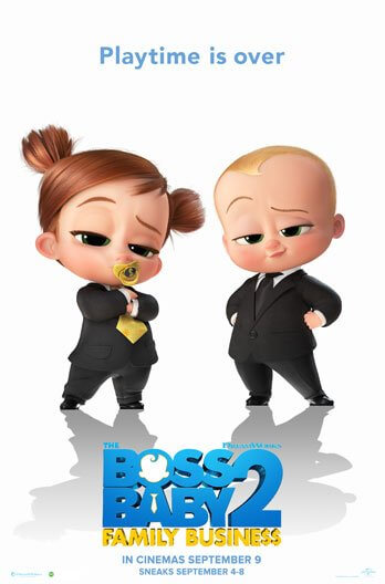The Boss Baby 2: Family Business Movie Poster