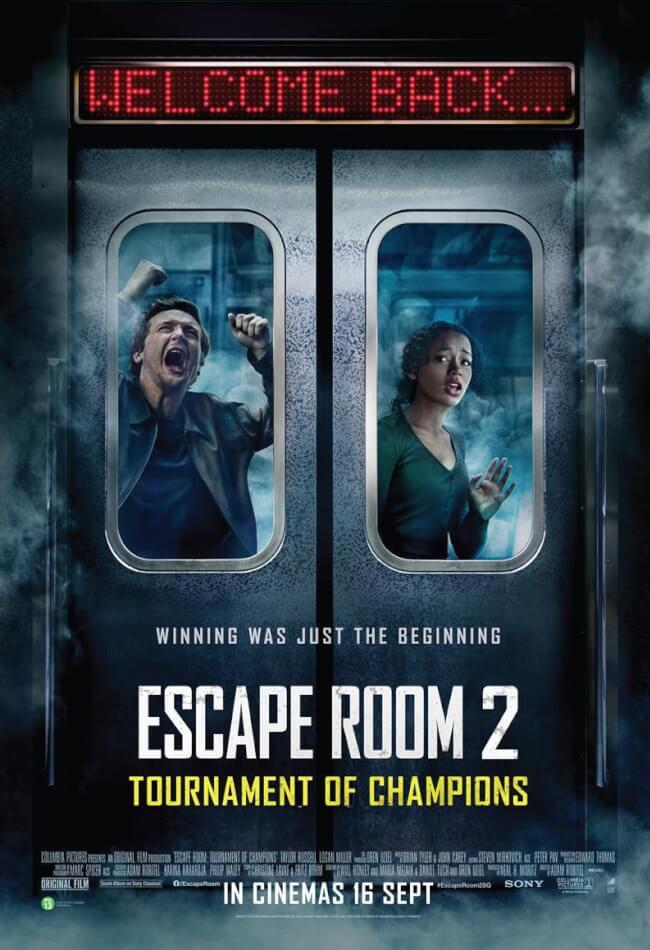 Escape Room 2: Tournament Of Champions Movie Poster