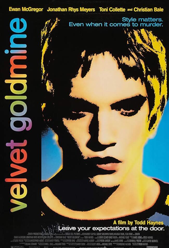 Velvet Goldmine Movie Poster
