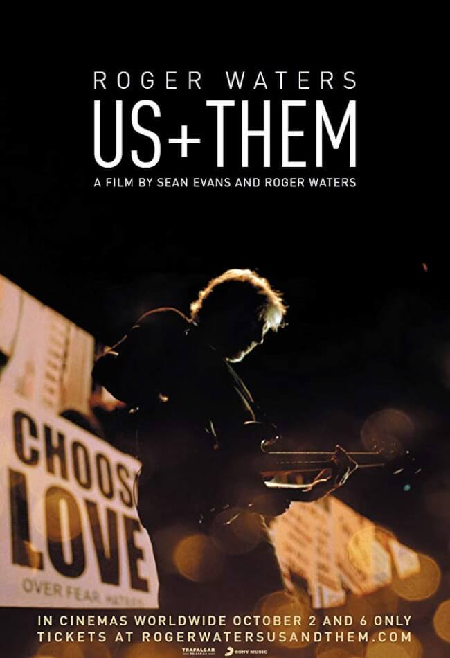 Roger Waters: Us + Them Movie Poster