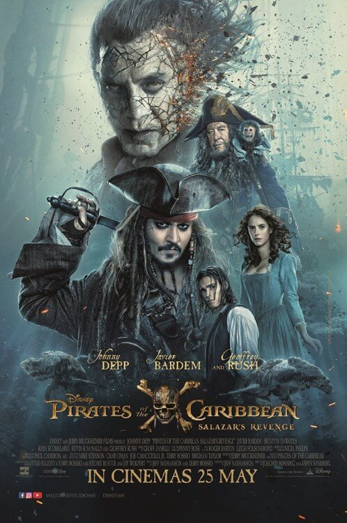 Pirates of the Caribbean: Salazar's Revenge Movie Poster