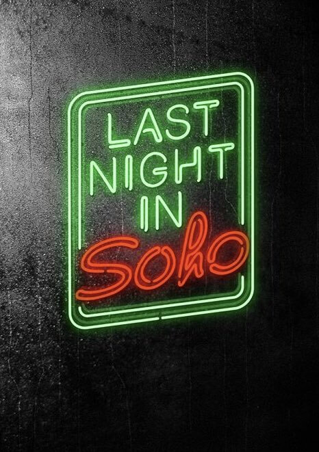 Last Night In Soho Movie Poster