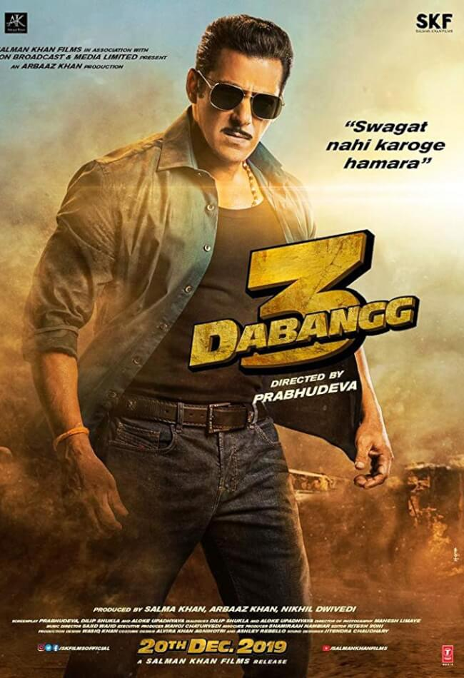 Dabangg 3 Movie Poster