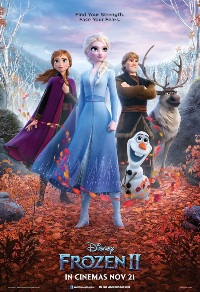 Disney's Frozen 2  Movie Poster
