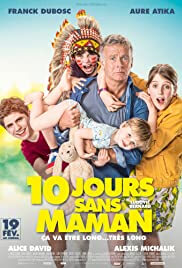 10 Days Without Mum Movie Poster