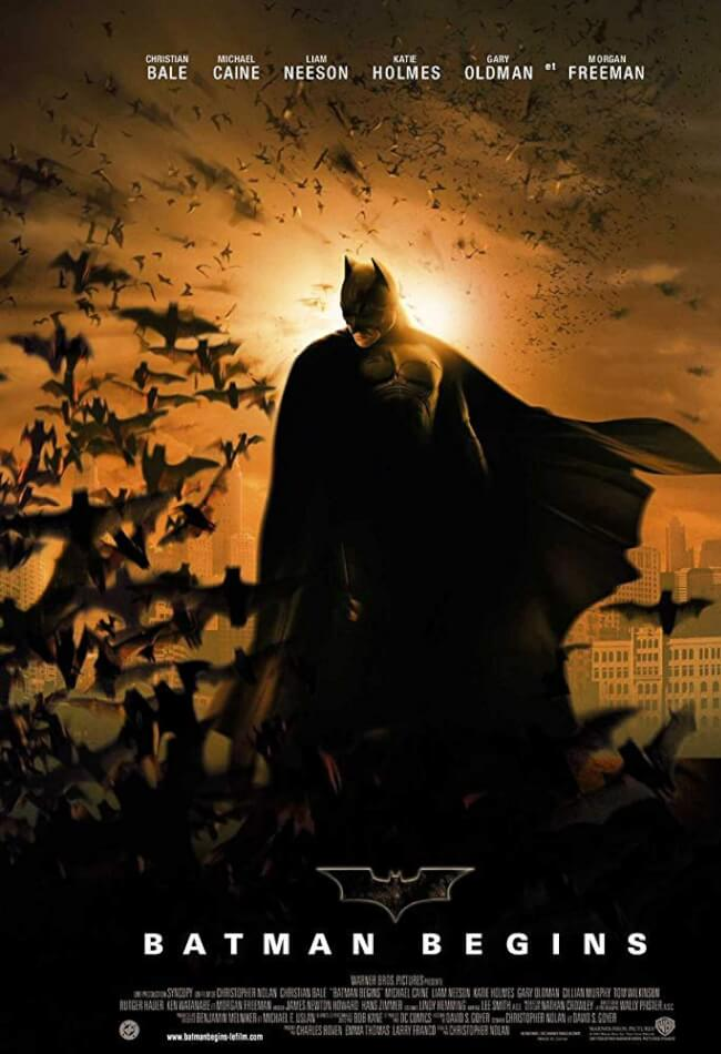 Batman Begins [IMAX] Movie Poster
