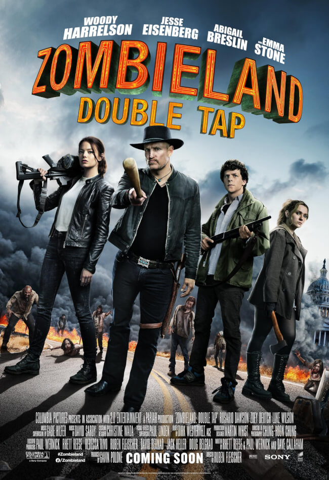Zombieland: Double Tap Movie Poster